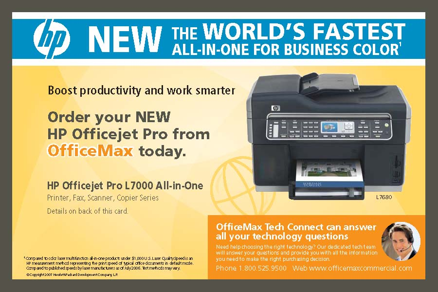 officemax hpl7000 postcard_page_1